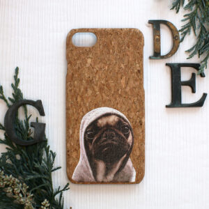 iphone SE, 7, 8 cork, hund