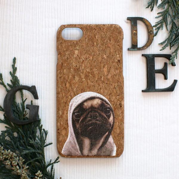 iphone SE, 7, 8 cork, hund