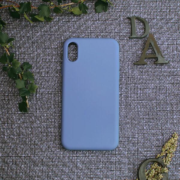 iphone X/XS TPU, lyseblå