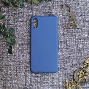 iphone X/XS TPU, blå