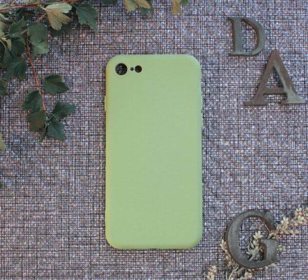 iphone SE, 7, 8 TPU, grøn