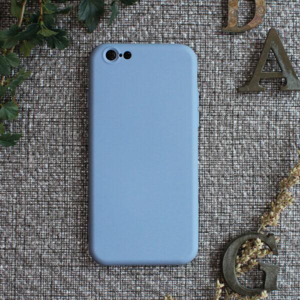 iphone 6 TPU, lyseblå