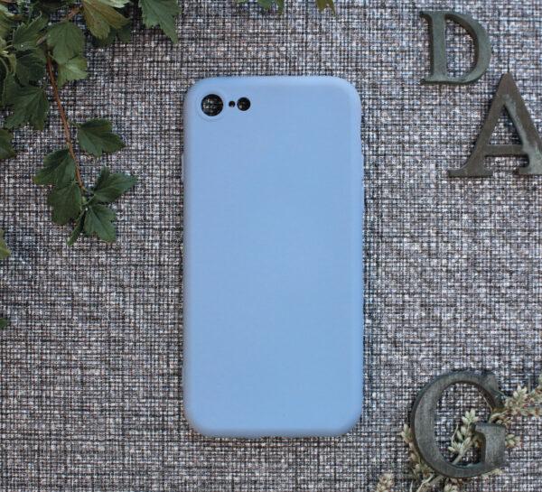 iphone SE, 7, 8 TPU, lyseblå