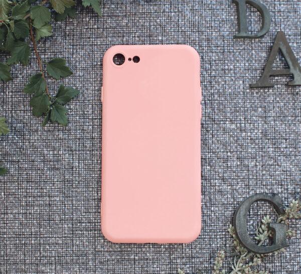 iphone SE, 7, 8 TPU, pink