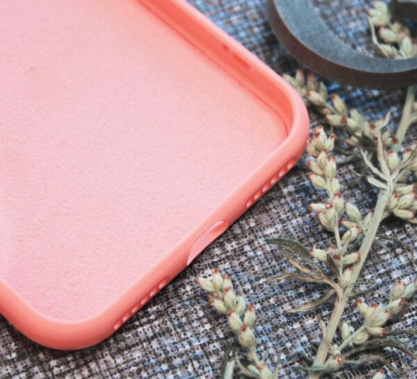 iphone SE, 7, 8 TPU, close-up pink