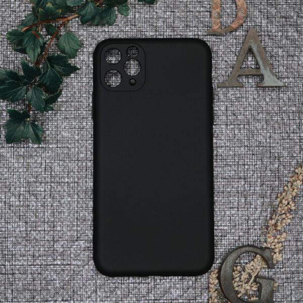 iphone 11 PRO MAX TPU, sort