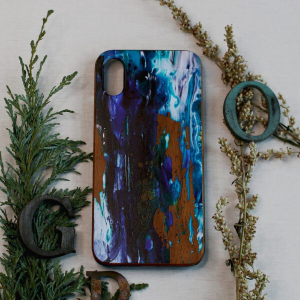 iphone X/XS træ, abstrakt