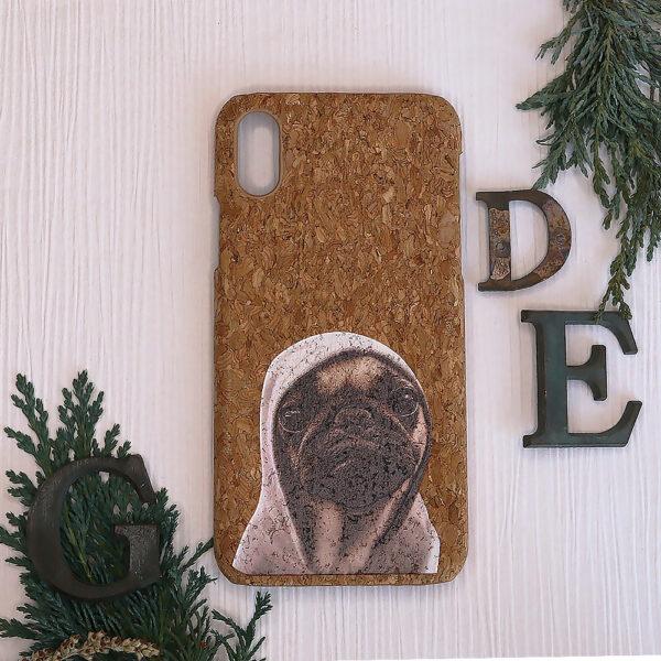 iphone X/XS Cork, hund