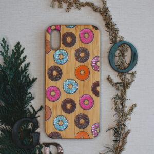 iphone X/XS træ, donuts