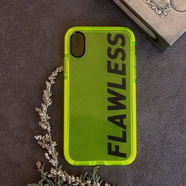 iphone X/XS Neon, FLAWLESS