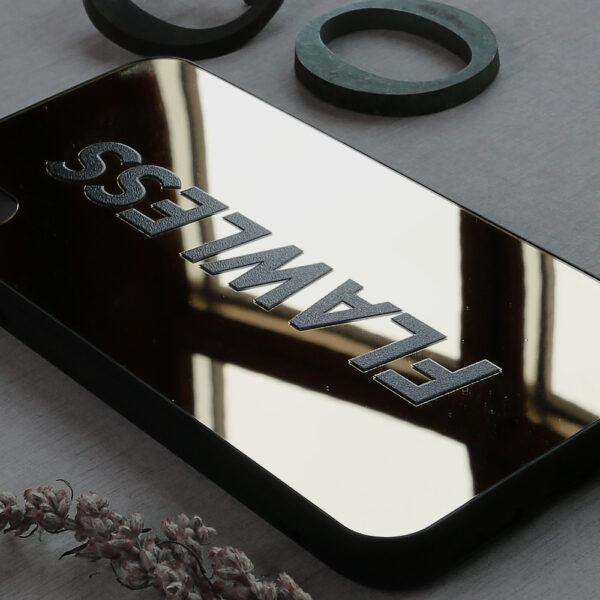 iphone X/XS spejl, FLAWLESS side