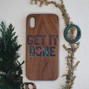 iphone X/XS træ, GET IT DONE