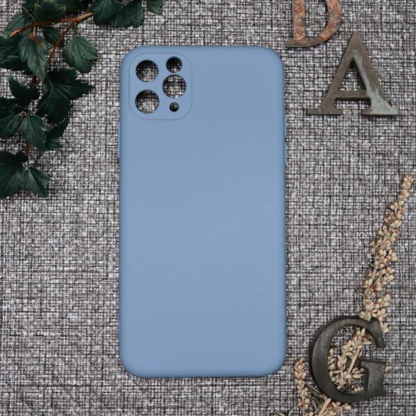 iphone 11 PRO MAX TPU, lyseblå